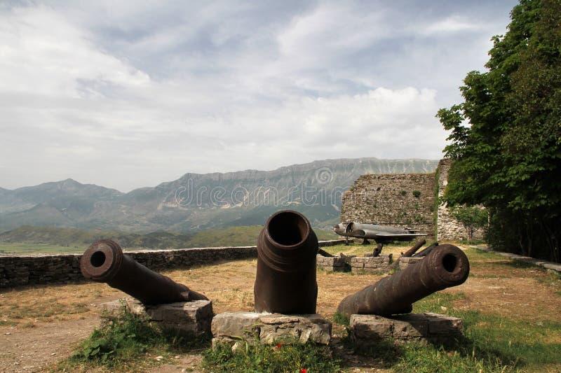 Gjirokaster - Албания стоковое фото rf