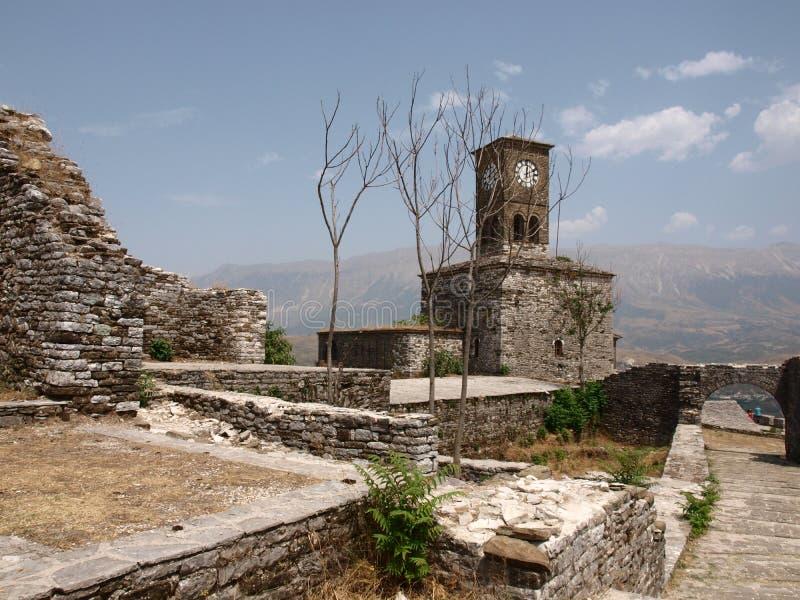 Gjirokastra城堡(3) 免版税库存照片