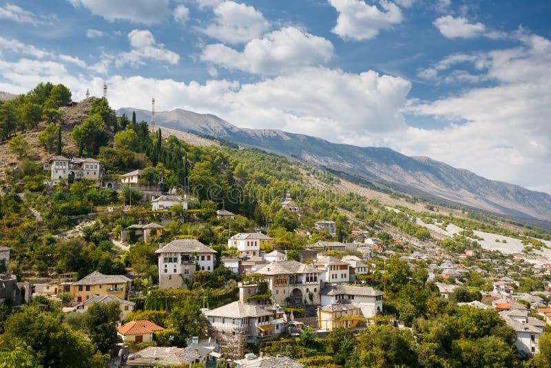 Gjirokastra,阿尔巴尼亚 库存照片