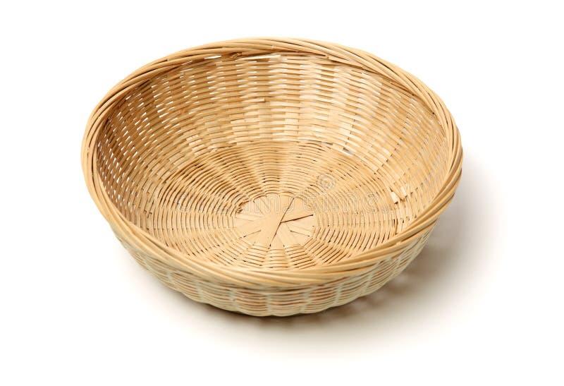 Gjord bambukorghand - royaltyfri fotografi