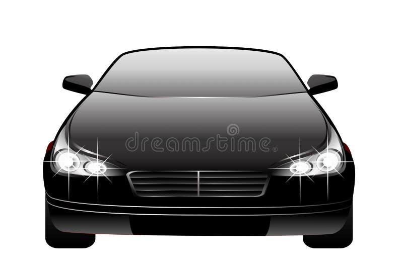 gjord bil 3d royaltyfri illustrationer