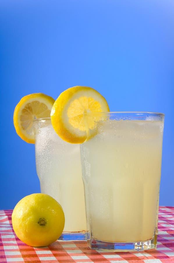 gjord home lemonade royaltyfria bilder
