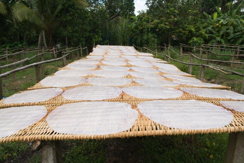 gjord paper rice traditionellt royaltyfri fotografi