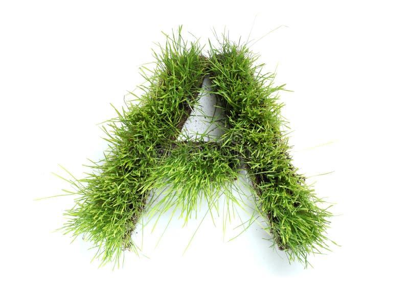 gjorda gräsbokstäver arkivfoton