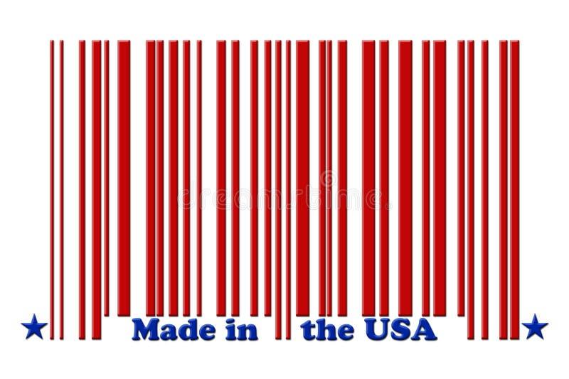 gjorda USA vektor illustrationer