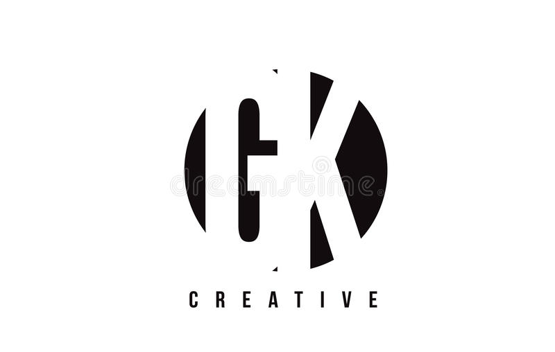 gk g k white letter logo design with circle background stock vector rh dreamstime com