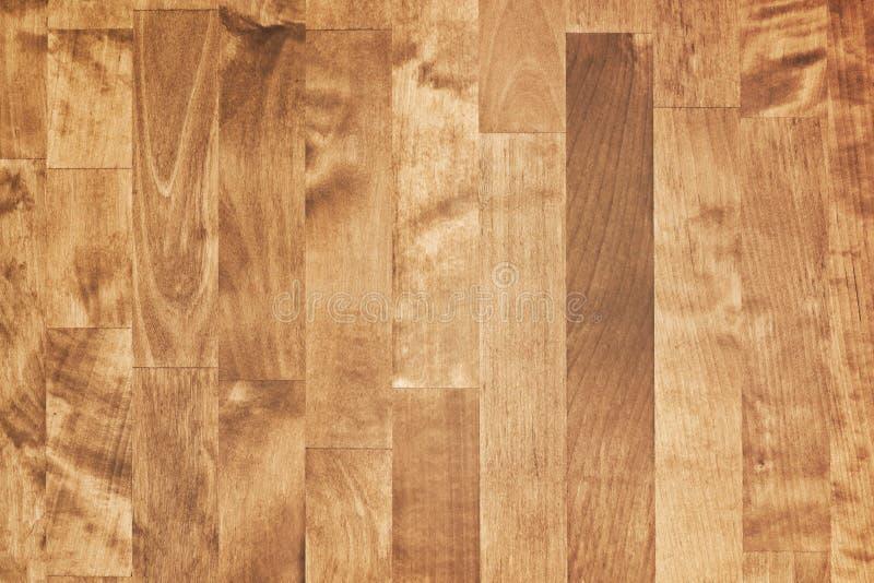 Glänsande brun träparkett fönster för textur för bakgrundsdetalj trägammalt royaltyfri bild