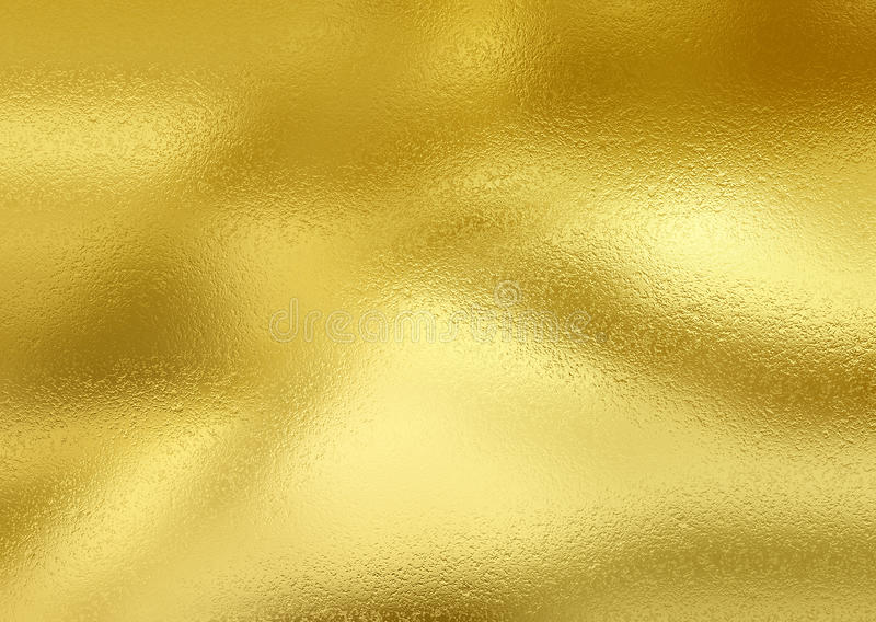 Glänsande guld- folie royaltyfri fotografi