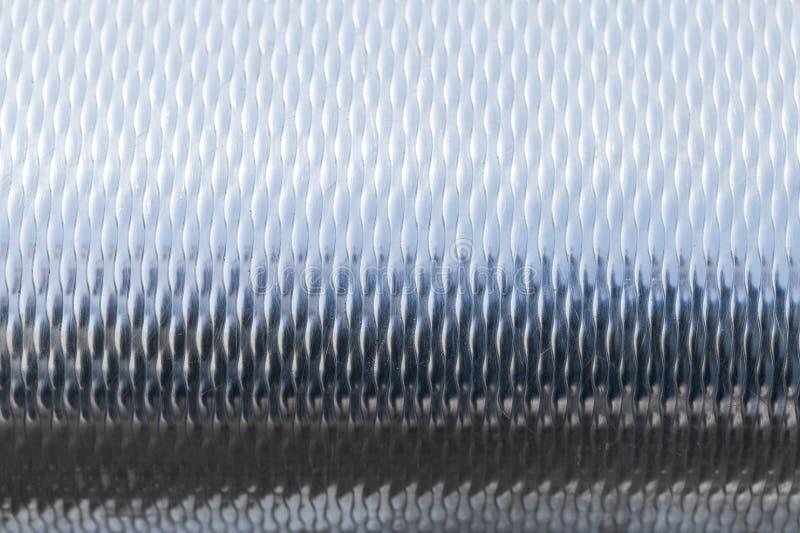 Glänsande textur för metallyttersida arkivfoto