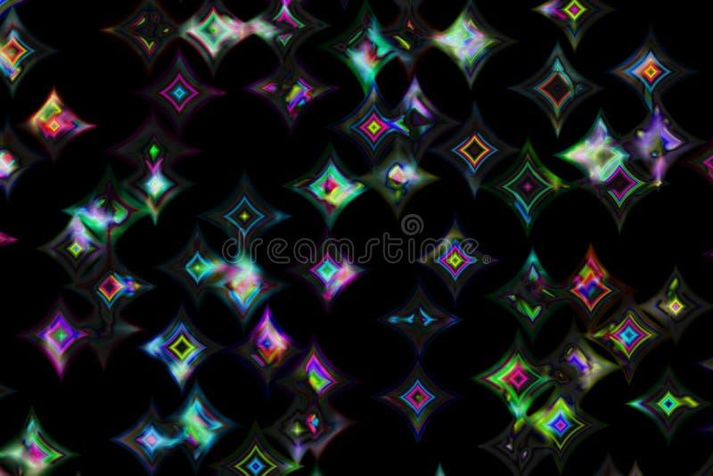 Download Glänzende Diamanten II stock abbildung. Illustration von festival - 26255