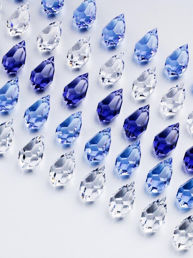 Glänzende Glaskorne stockbild