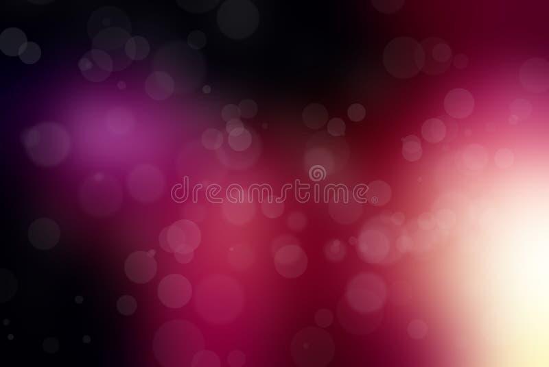 Glänzende Leuchten stock abbildung
