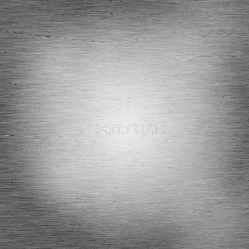 Glänzender aufgetragener Stahl mit Kratzern lizenzfreie stockfotos