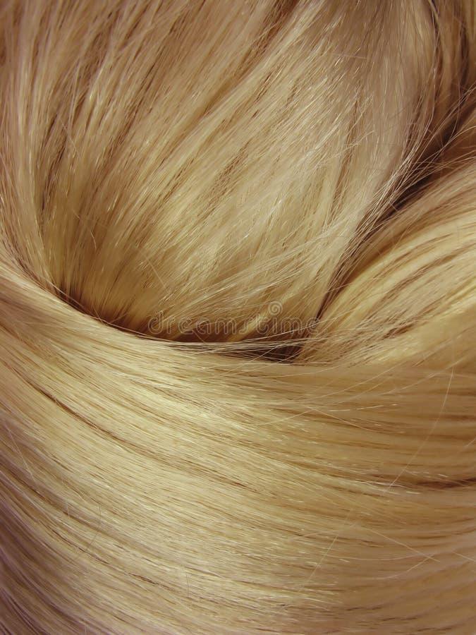 Glänzender Beschaffenheitshintergrund des dunklen Haares lizenzfreie stockbilder