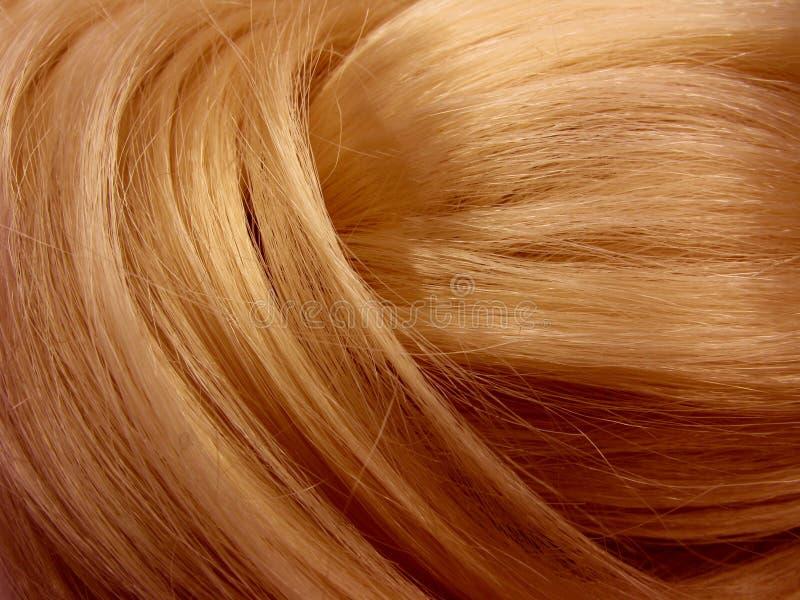 Glänzender Hintergrund des dunklen Haares lizenzfreie stockfotografie