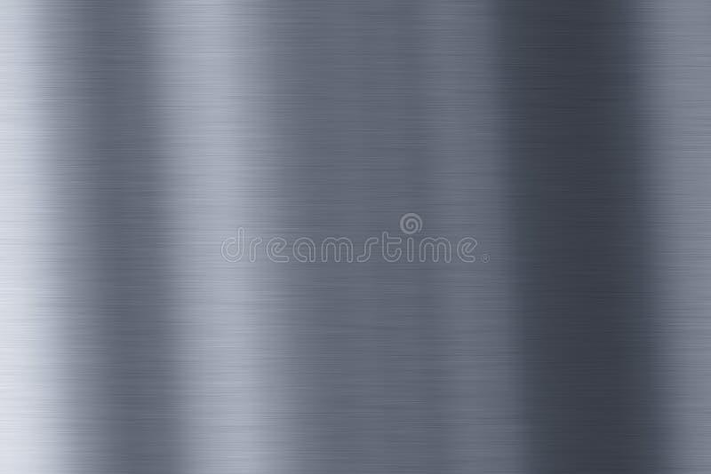 Glänzender Metallhintergrund stockbild