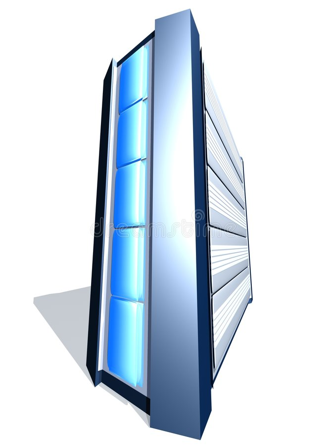 Glänzender PC