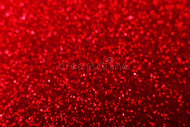 Glänzender roter heller Hintergrund für eine festliche Dekoration lizenzfreie stockfotografie