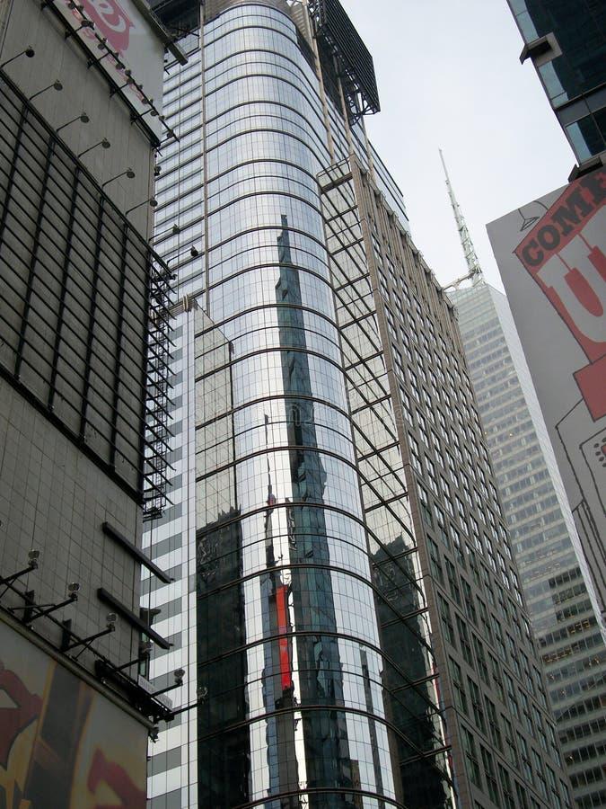 Glänzendes Gebäude New York lizenzfreies stockbild