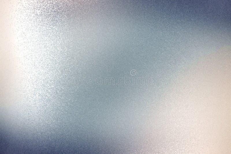 Glänzendes graues Stahlblech, abstrakter Beschaffenheitshintergrund stock abbildung