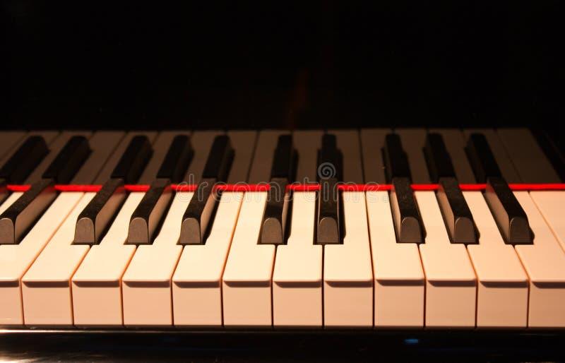 Glänzendes Klavier stockbilder