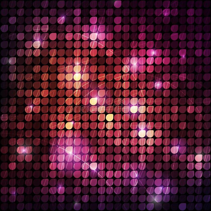 Glänzendes Mosaik stock abbildung