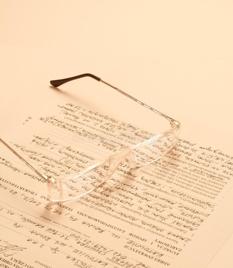 Gläser stockfotografie