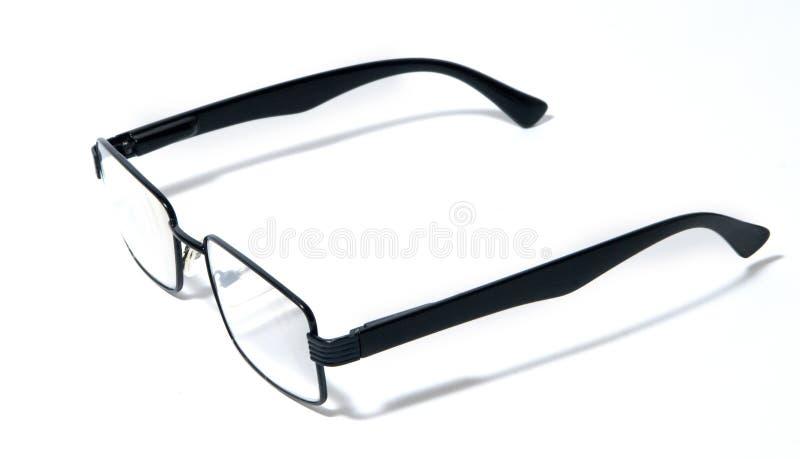 Gläser, Brillen, Schauspiele, moderne Paare Gläser, schwarze Kante lizenzfreies stockbild