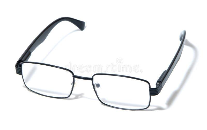 Gläser, Brillen, Schauspiele, moderne Paare Gläser, schwarze Kante lizenzfreies stockfoto