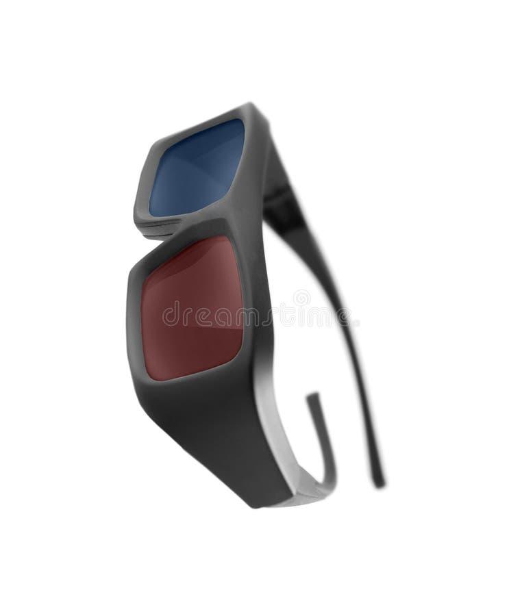 Gläser 3d getrennt auf Weiß stockbild