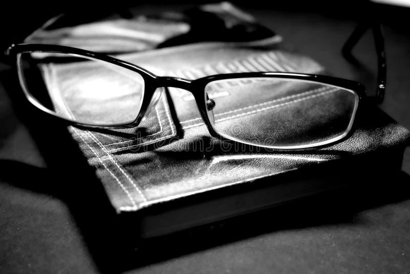 Gläser der Organisator stockbild