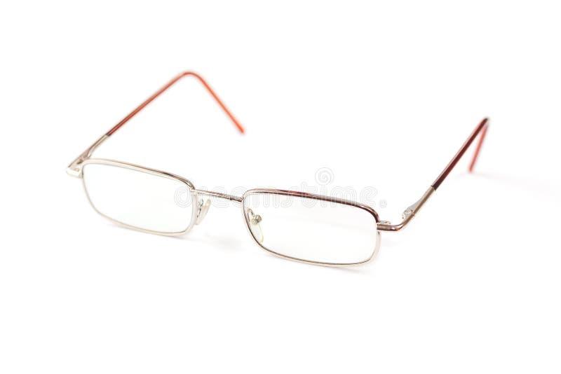 Gläser für Ansicht in Metallrahmen lizenzfreies stockfoto