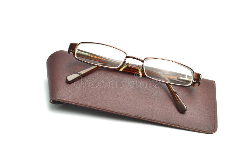Gläser und Fall stockfotografie