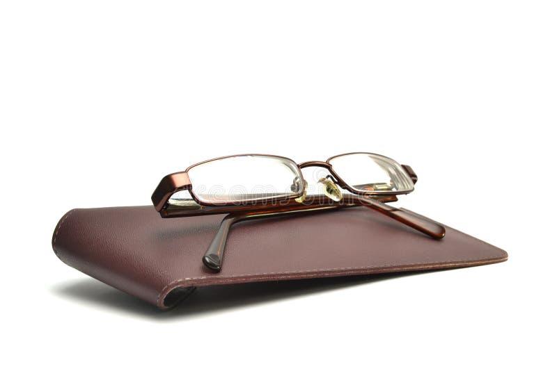 Gläser und Fall stockbilder