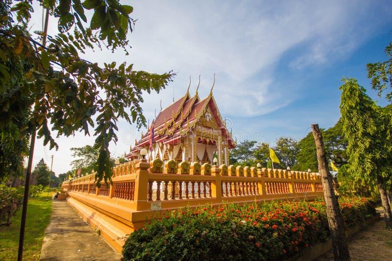 Glåmig tempel för PA-nom royaltyfria bilder