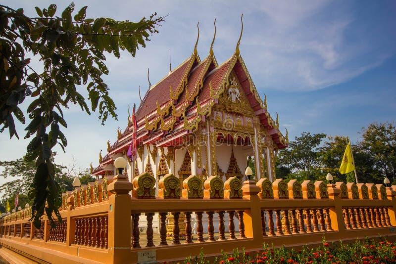 Glåmig tempel för PA-nom royaltyfri bild