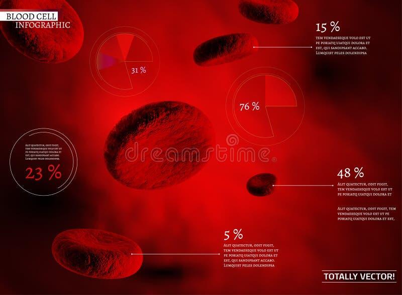 Glóbulo infographic ilustração stock