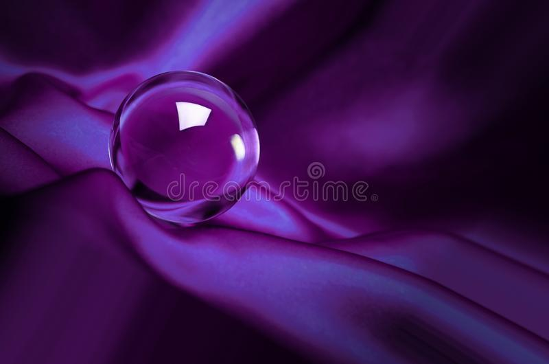 glöda för bollkristall royaltyfri foto