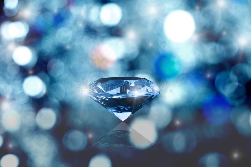 glöda för diamant royaltyfri fotografi