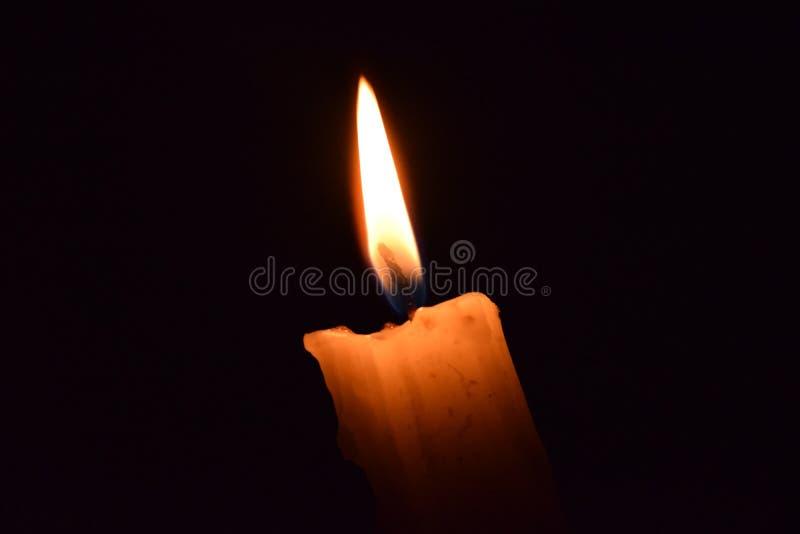 glöda för stearinljus arkivfoton