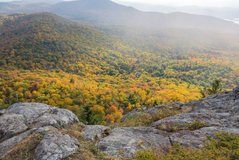 Glödande Autumn Colors royaltyfria foton