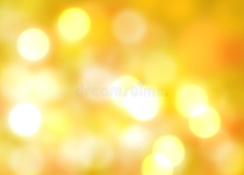 glödande lampa för höstbakgrund fotografering för bildbyråer