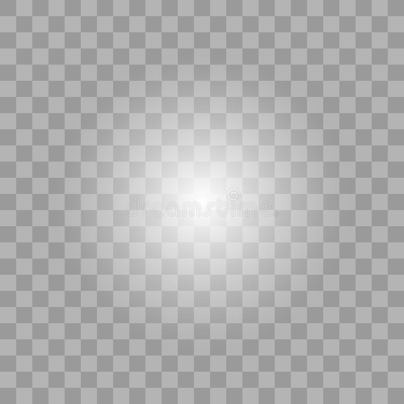 Glödande ljus bristningsexplosion för vit royaltyfri illustrationer