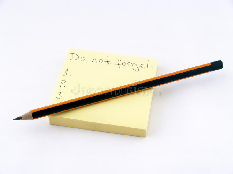 glöm inte arkivbild