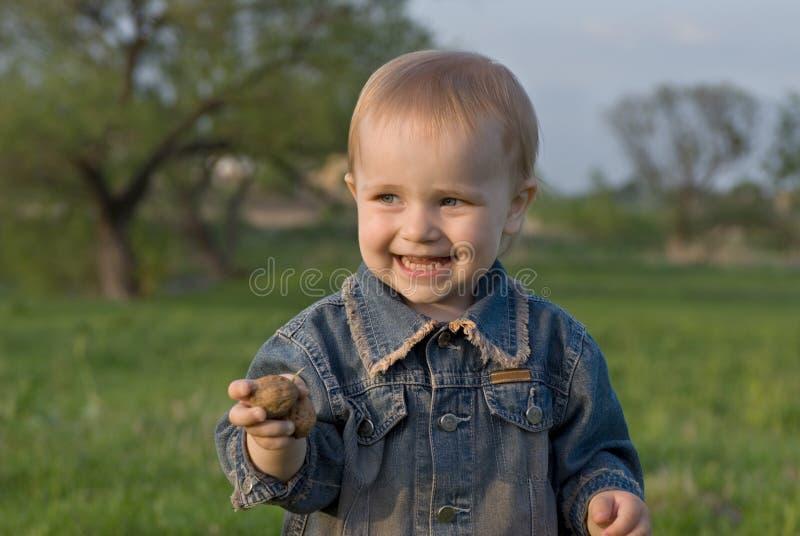 Glück der Kinder lizenzfreie stockbilder