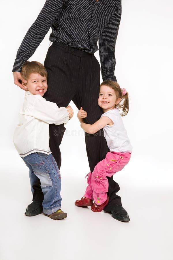 Glückliche Familie II lizenzfreies stockfoto