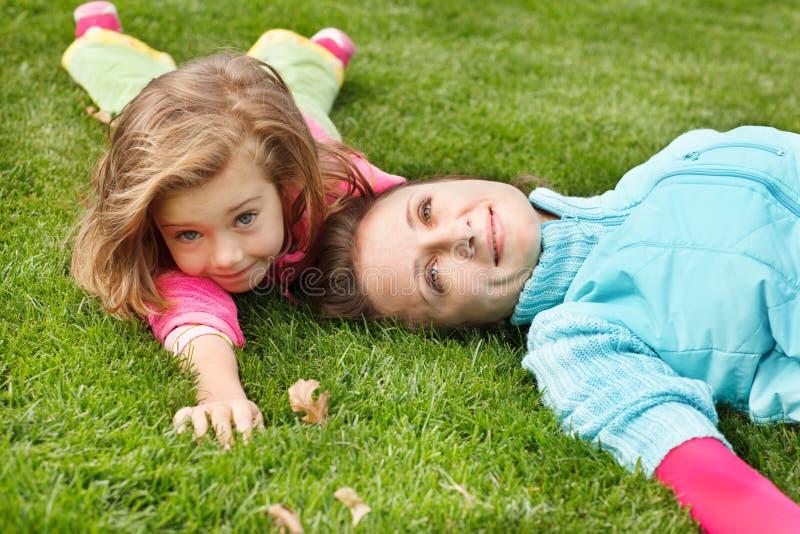Glückliche Frau und Mädchen stockfotografie