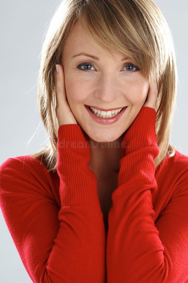 Glückliche Frauen stockbilder