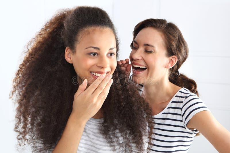 Glückliche Frauen lizenzfreies stockfoto