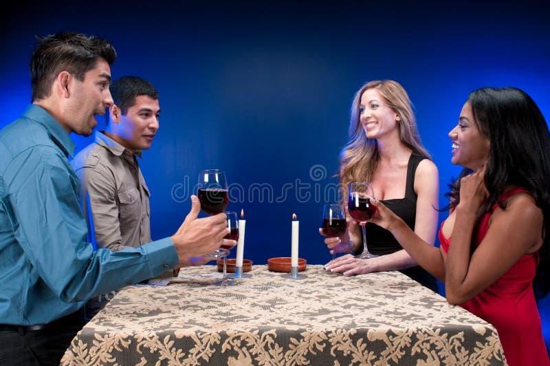 Glückliche Freunde lizenzfreies stockbild